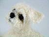 Shih Tzu, felted sculpture
